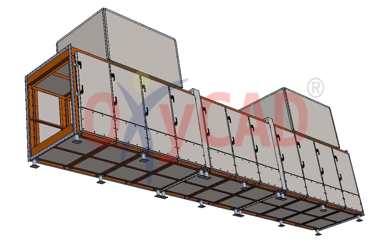 Conception 3D de panneaux isolants