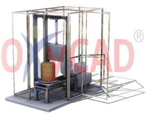 Conception 3D d'une tavaillonneuse semi-automatique