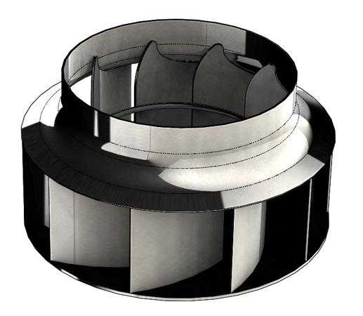 Rétroconcetion de turbines industrielles