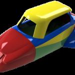 Rétroconception d'une carrosserie d'un Messerschmitt KR200