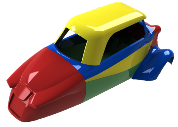 You are currently viewing Rétroconception d'une carrosserie d'un Messerschmitt KR200